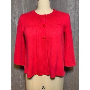 J. Crew 100% Cashmere Cardigan Sweater S